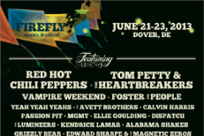Firefly Festival 2013 Lineup
