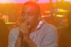 Kendrick Lamar on Letterman