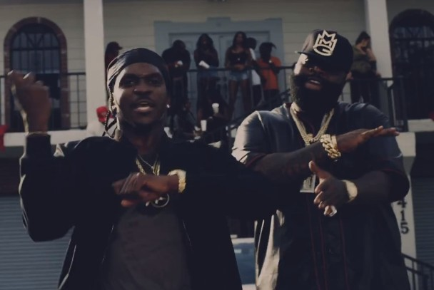 "Pusha T – ""Millions"" Video (Feat. Rick Ross)"