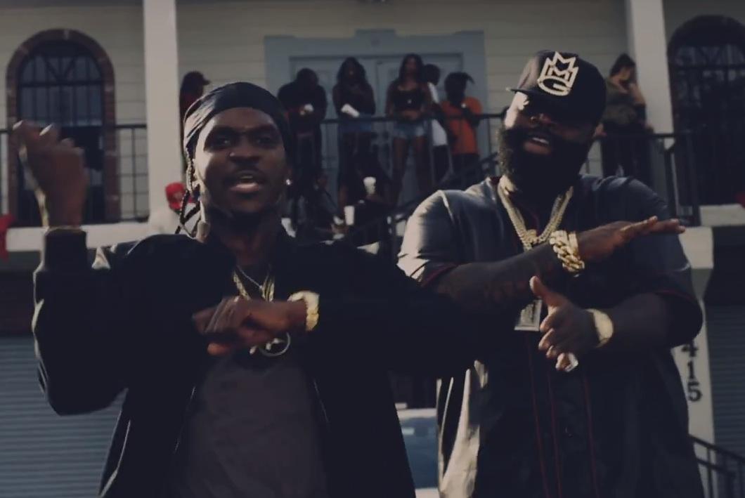 "Pusha T – ""Millions"" Video (Feat. Rick Ross)"