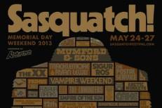 Sasquatch! 2013