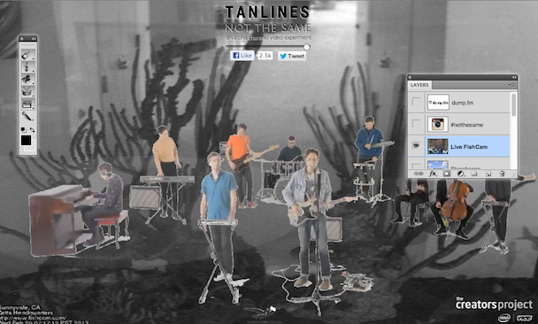 Tanlines - Not The Same Interactive Video
