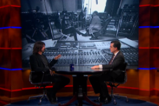 Watch Dave Grohl On Colbert