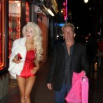 Courtney Stodden Goes Shopping With Her Dad