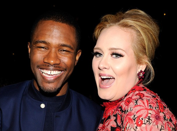 Frank Ocean & Adele At The 2013 Grammys