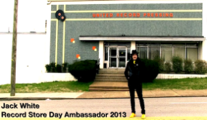Jack White Named Ambassador Of Record Store Day 2013