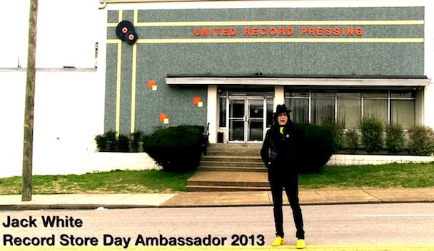 Jack White Named Ambassador Of Record Store Day 2013