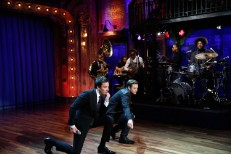 "Watch Justin Timberlake & Jimmy Fallon's ""History Of Rap Part 4″"