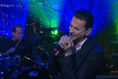 Depeche Mode on Letterman