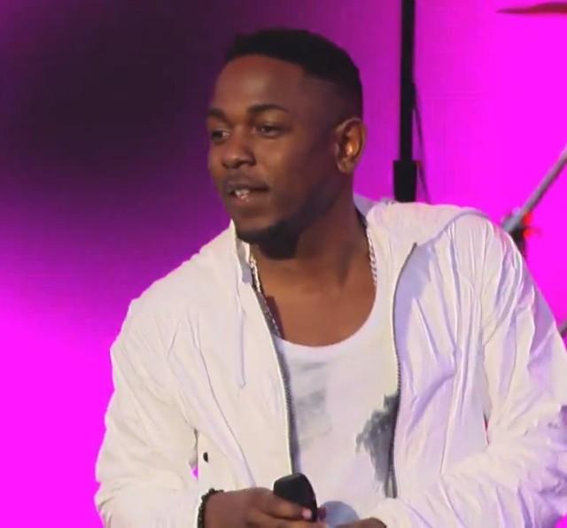 Kendrick Lamar on Kimmel