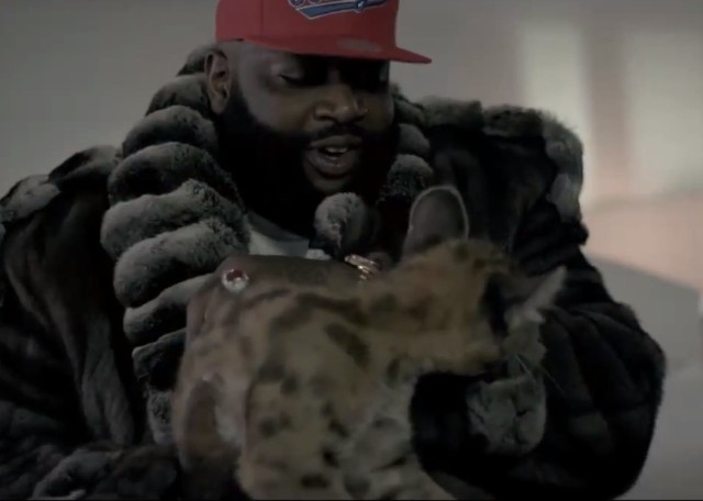 "Rick Ross - ""Ashamed"" video"