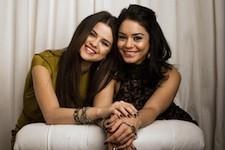 Potrait of Selena Gomez and Vanessa Hudgens-stars of