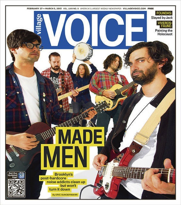 The Men - village voice cover