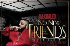 """DJ Khaled – """"No New Friends"""" (Feat. Drake, Lil Wayne & Rick Ross)"""