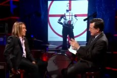 Iggy Pop on Colbert