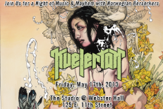 Kvelertak Party Invite