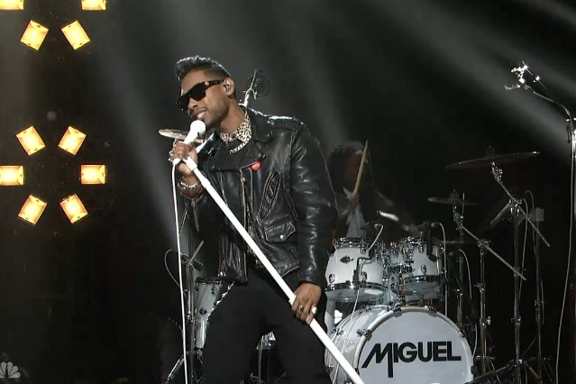 Miguel on SNL