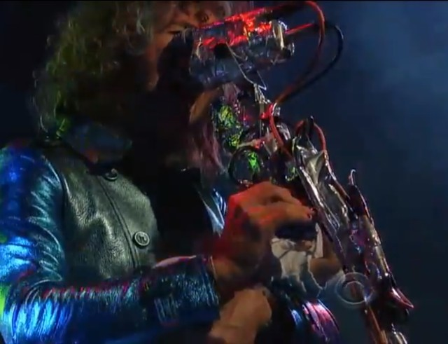 The Flaming Lips on Letterman