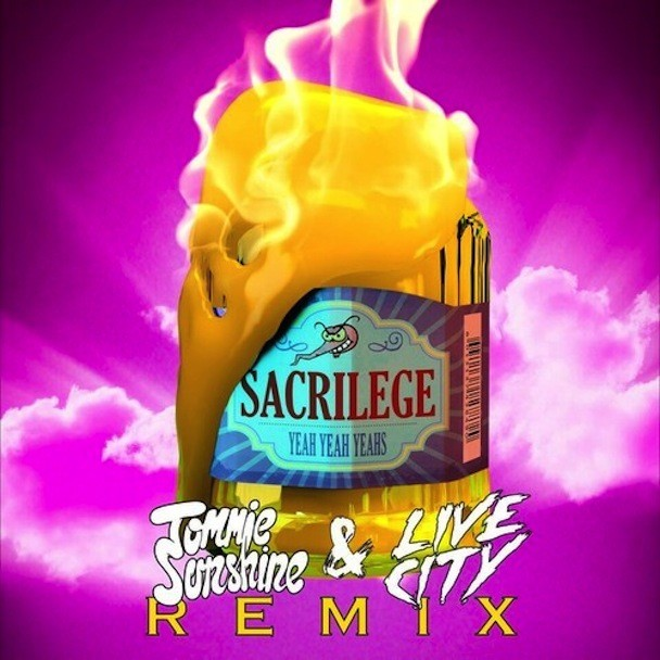 "Yeah Yeah Yeahs - ""Sacrilege (Tommie Sunshine & Live City Remix)"""