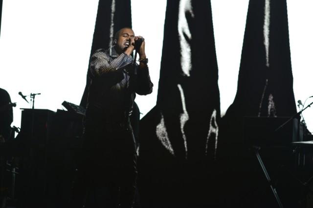 Kanye West On Saturday Night Live 2013