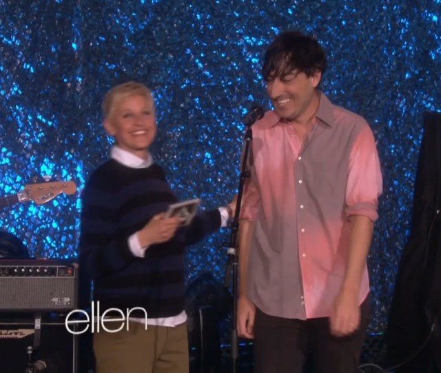 Grizzly Bear on Ellen