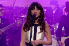 She & Him on Letterman