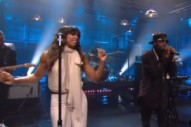 Watch The-Dream &#038; Kelly Rowland Play <em>Leno</em>