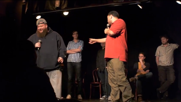 Watch Action Bronson Do Improv