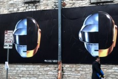Daft Punk SXSW billboard