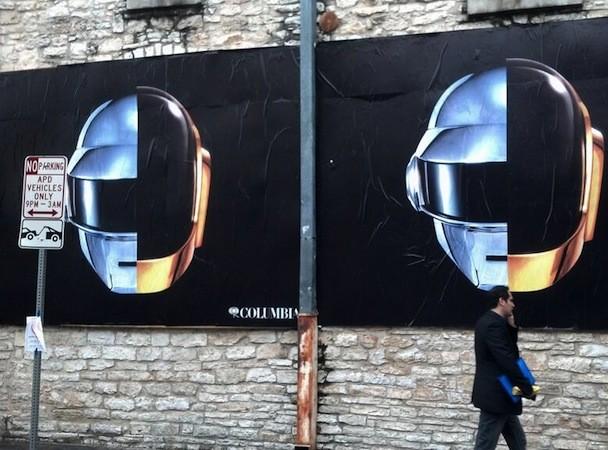 Daft Punk SXSW billboard