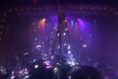 Flaming Lips on Fallon 2013