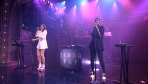 Icona Pop on Fallon