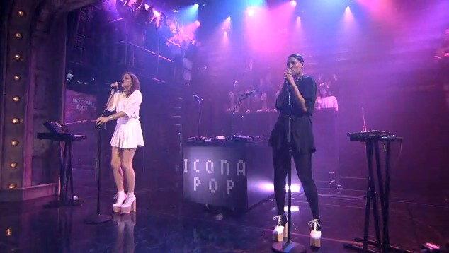 Icona Pop on Fallon