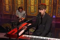 James Blake on Letterman 2013