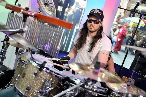 Andrew W.K. Drumming