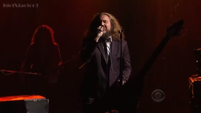 Jim James on Letterman