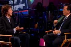 Watch Paul McCartney Play <em>Colbert</em>