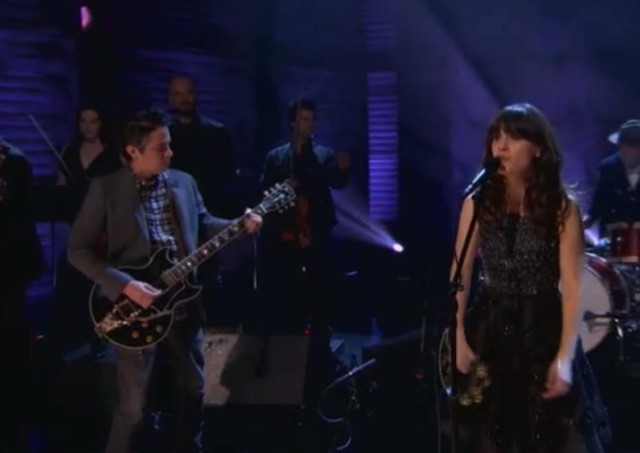 She And Him on Conan