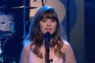 Watch She &#038; Him Play <em>Leno</em>