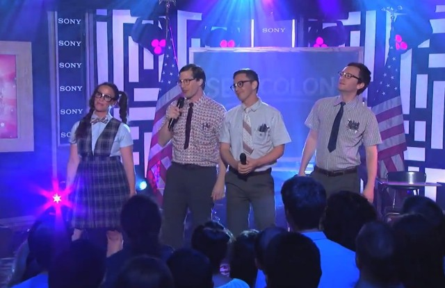 The Lonely Island on Kimmel