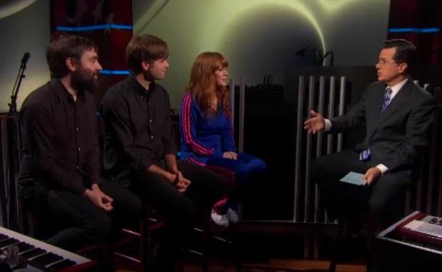 The Postal Service on Colbert