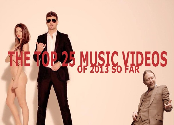 Stereogum's Top 25 Music Videos Of 2013 So Far