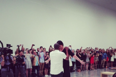 """See Scenes From Jay-Z's """"Picasso Baby"""" Video Shoot At An NYC Art Gallery Right Now"""