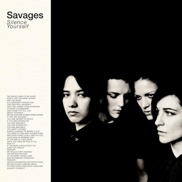 Sufjan Critiques Savages LP Typography