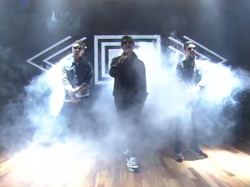 Watch The Lonely Island Do &#8220;YOLO&#8221; On <em>Fallon</em> With The Roots And Fallon