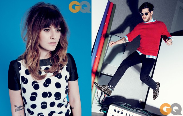 Best Coast & Wavves Model Garage Rock Fashions For GQ