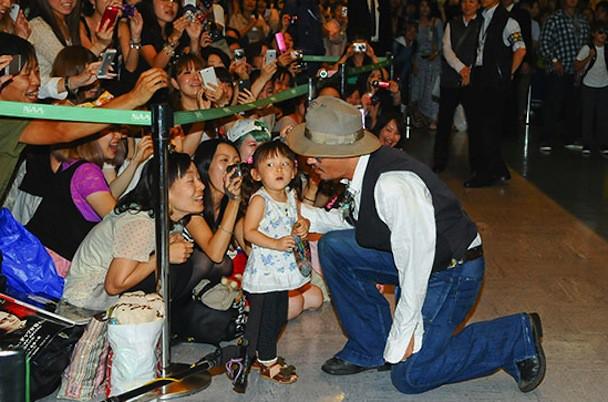 Johnny Depp is no Lone Ranger in Japan