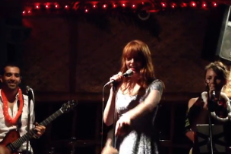 "Watch Florence Welch Cover ""Get Lucky"""