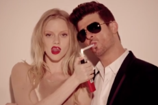 Why Is YouTube Allowing Nudity In Justin Timberlake's Video, But Not Robin Thicke's?