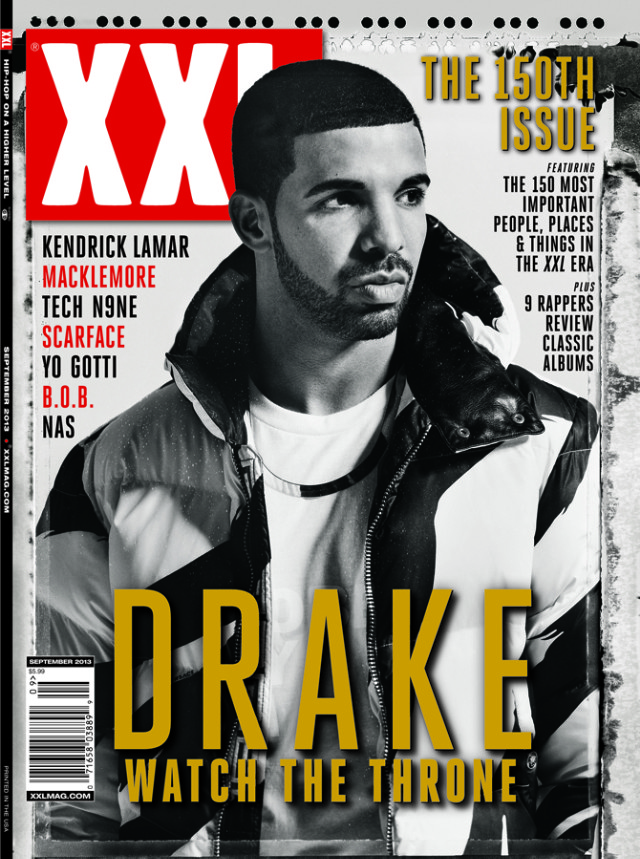 Drake On The Cover Of XXL 2013